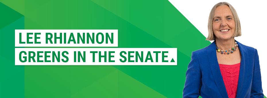 Lee Rhiannon: Greens in the Senate