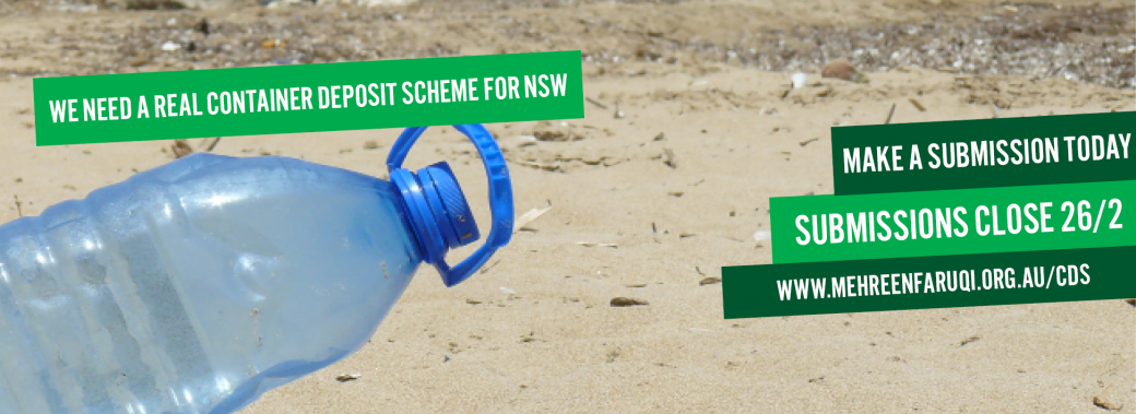 NSW needs a container deposit scheme, make a submission now
