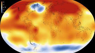 Global heat map