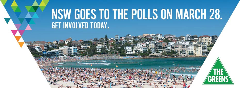 NSW Goes to the Polls - Get involved today