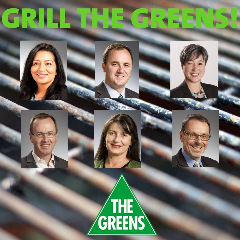 Grill the Greens