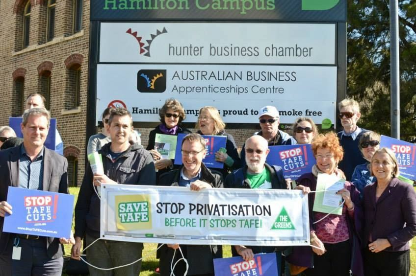 Hands off TAFE, 12 October 2015