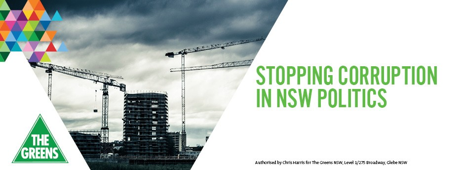 Stopping Corruption in NSW Politics