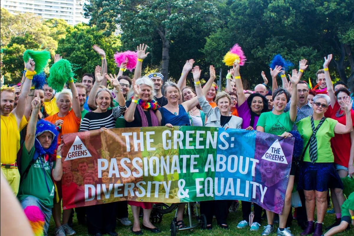 ... and equality to this year's Sydney Gay & Lesbian Mardi Gras Parade