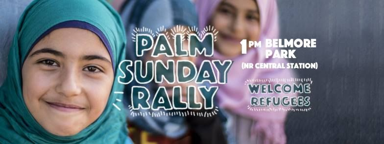 Palm Sunday 2016, Refugees Welcome