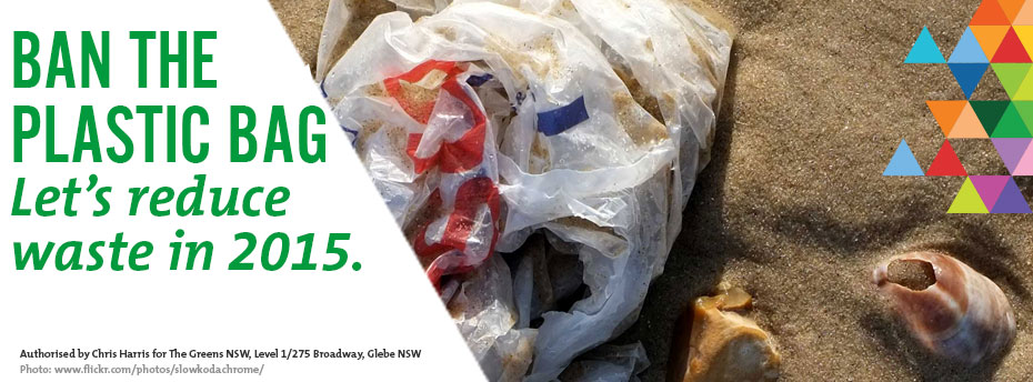 Banning plastic bags in NSW