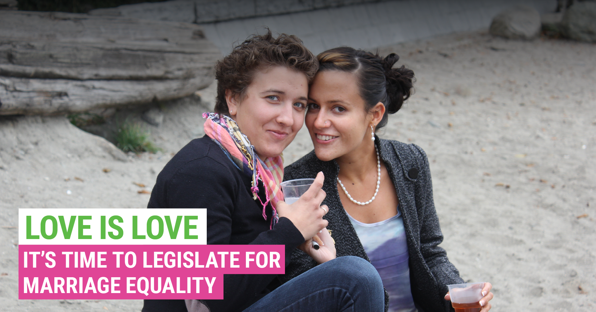 Love is Love. The Greens get marriage equality through parliament.